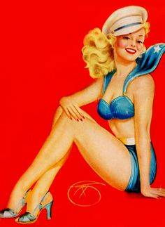 1eaa01ab3894342318f2d5839f62f755--pin-up-illustration-girl-tattoos